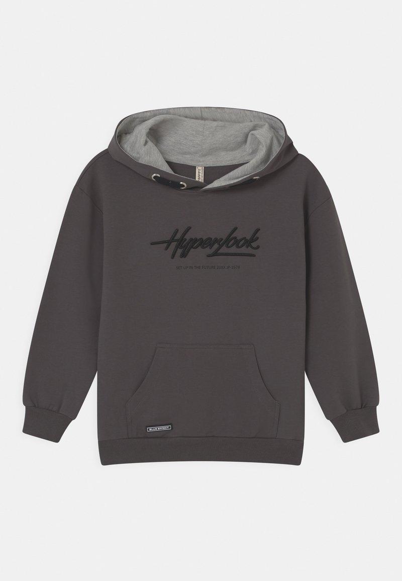 Blue Effect - BOYS HYPERLOOK HOODIE - Sweatshirt - dunkelgrau reactive
