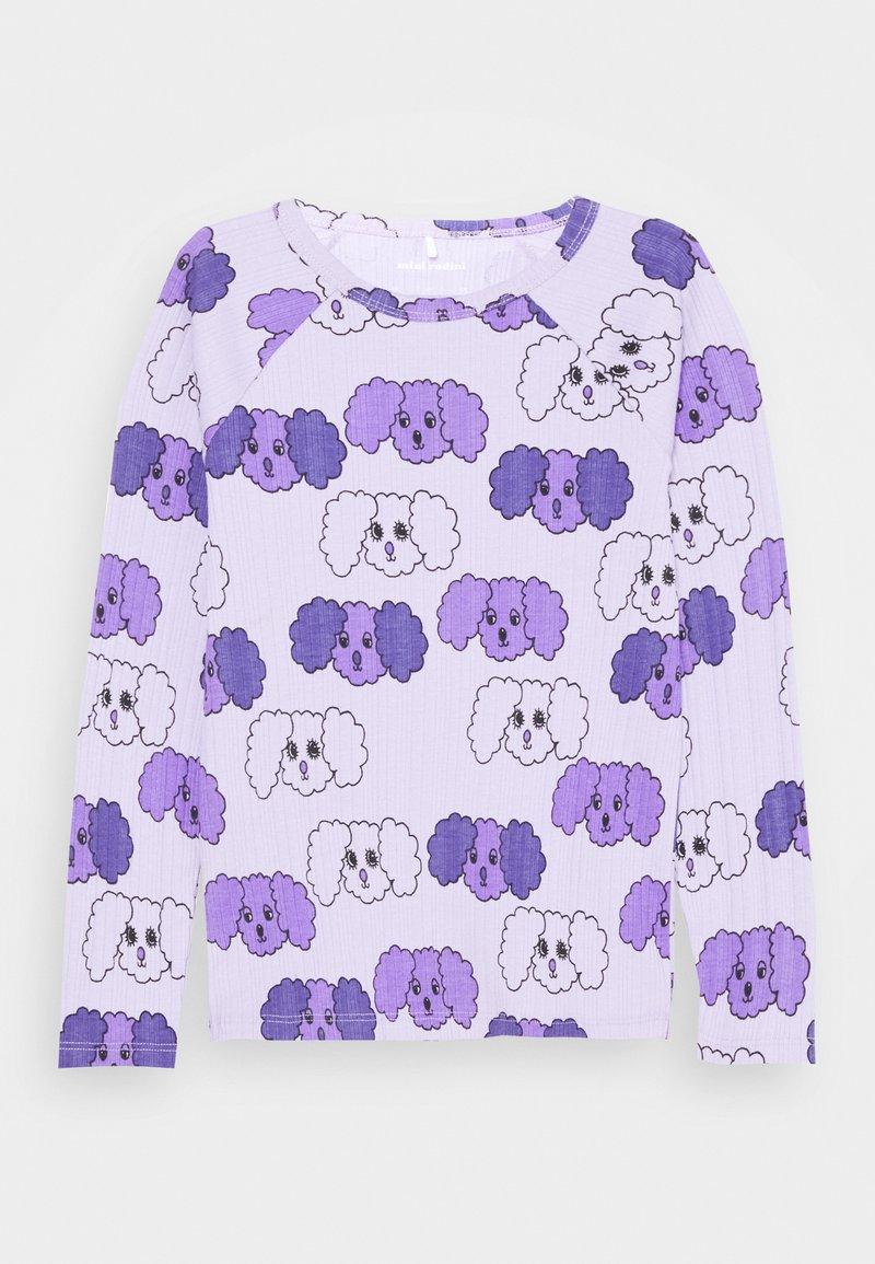 Mini Rodini - FLUFFY DOG UNISEX - Long sleeved top - purple
