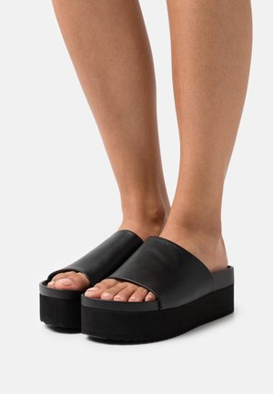 VEGAN NORMANDY  - Mules - black dark