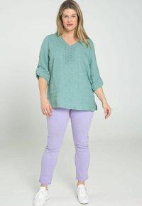 Paprika - Long sleeved top - mint - 1