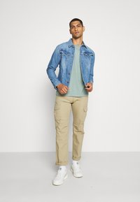 G-Star - 3302 SLIM JKT - Spijkerjas - faded orion blue - 1