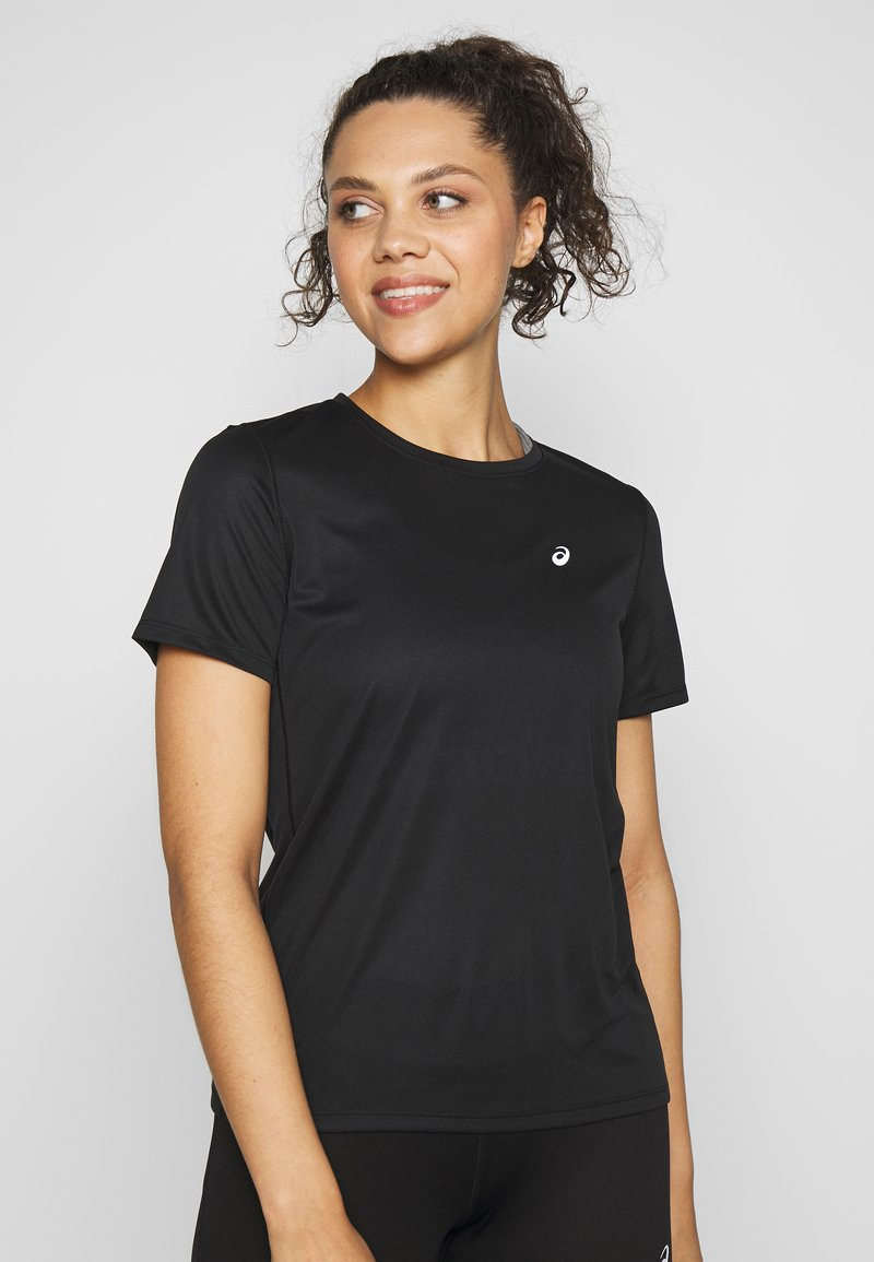 ASICS - KATAKANA - T-shirt z nadrukiem - performance black