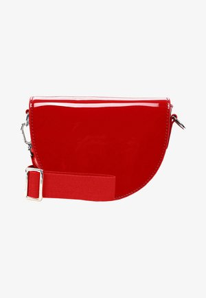 BEA - Across body bag - red-lack 699