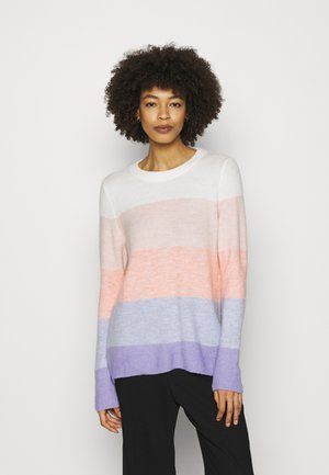COZY SOFT CREW TUNIC - Neule - rugby pink