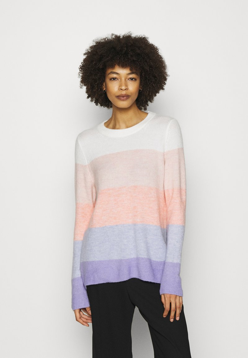 GAP - COZY SOFT CREW TUNIC - Jumper - rugby pink