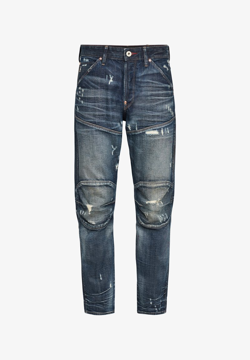 G-Star - 5620 3D ORIGINAL RELAXED TAPERED - Jeans baggy - antic faded tarnish blue destroyed