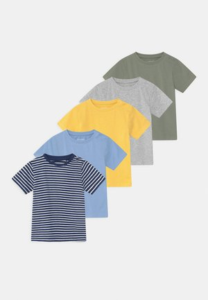 5 PACK UNISEX - T-shirt imprimé - multi-coloured