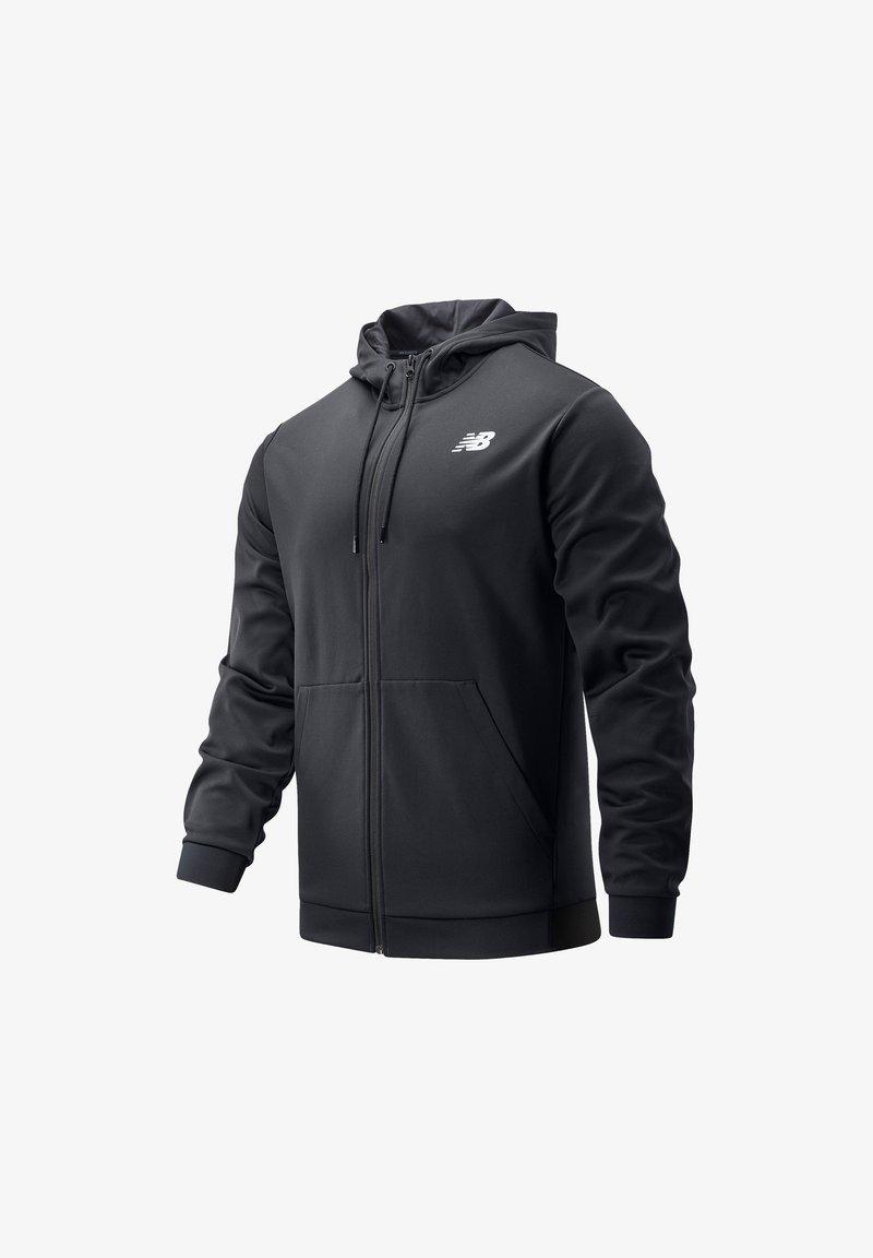 New Balance - Zip-up hoodie - black