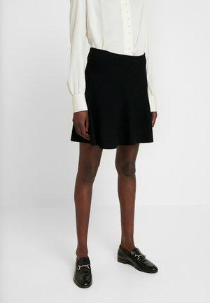 VIKA SKIRT - Áčková sukně - black