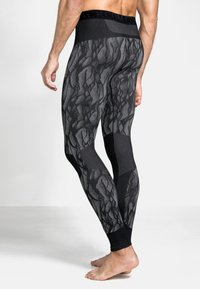 ODLO - Leggings - black/odlo steel grey/silver - 1