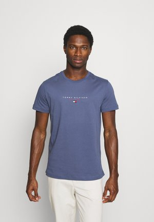 ESSENTIAL TEE - T-shirt print - faded indigo