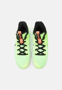 Nike Performance - LEBRON WITNESS 5 - Basketball shoes - lime glow/black/bright mango/white - 3