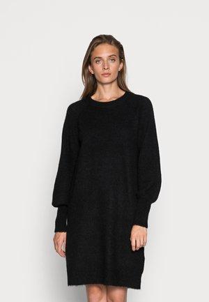 SLFLULU DRESS O NECK - Jumper dress - black