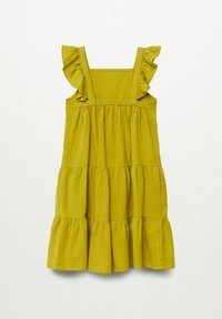 Mango - ROBE - Day dress - citron vert - 1