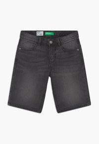 Benetton - Denim shorts - dark grey - 0
