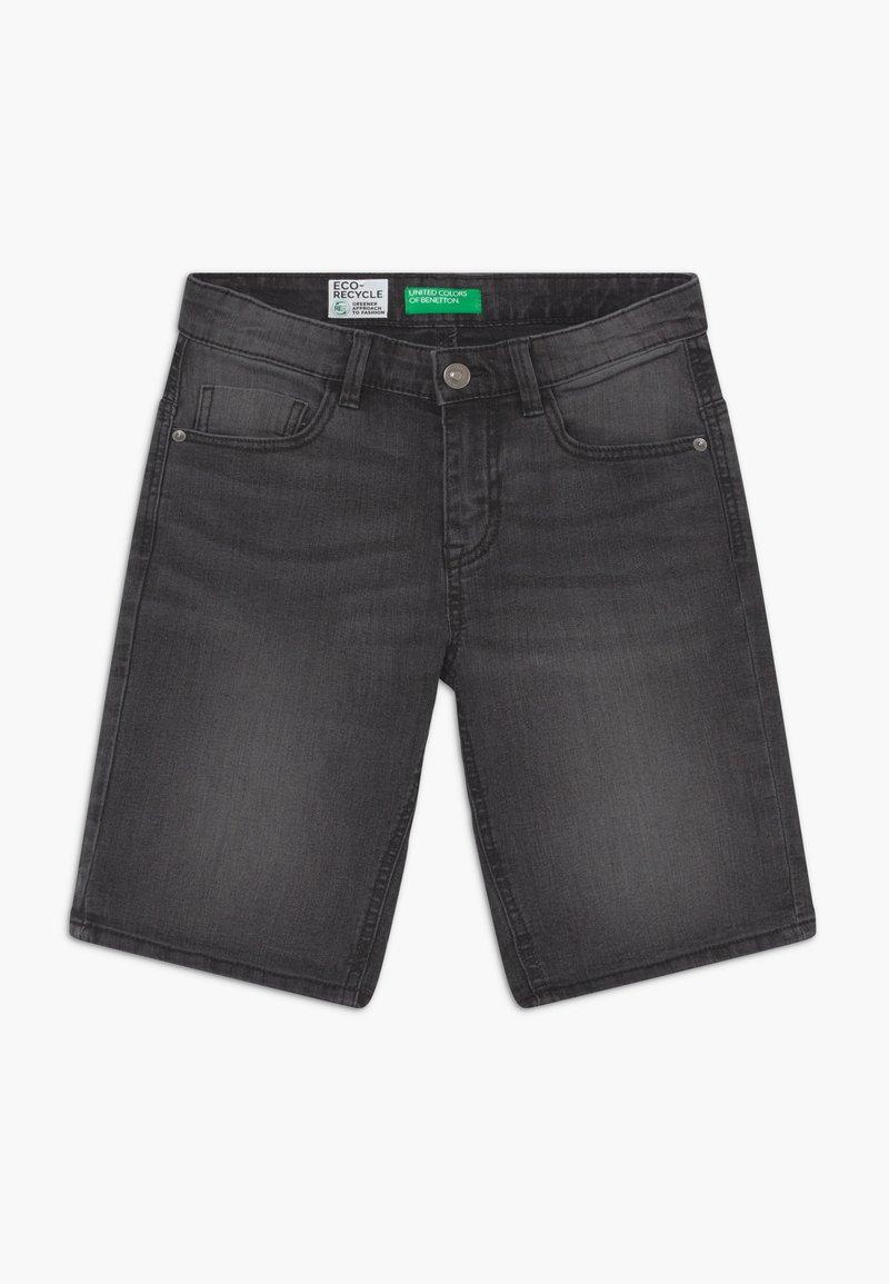 Benetton - Denim shorts - dark grey