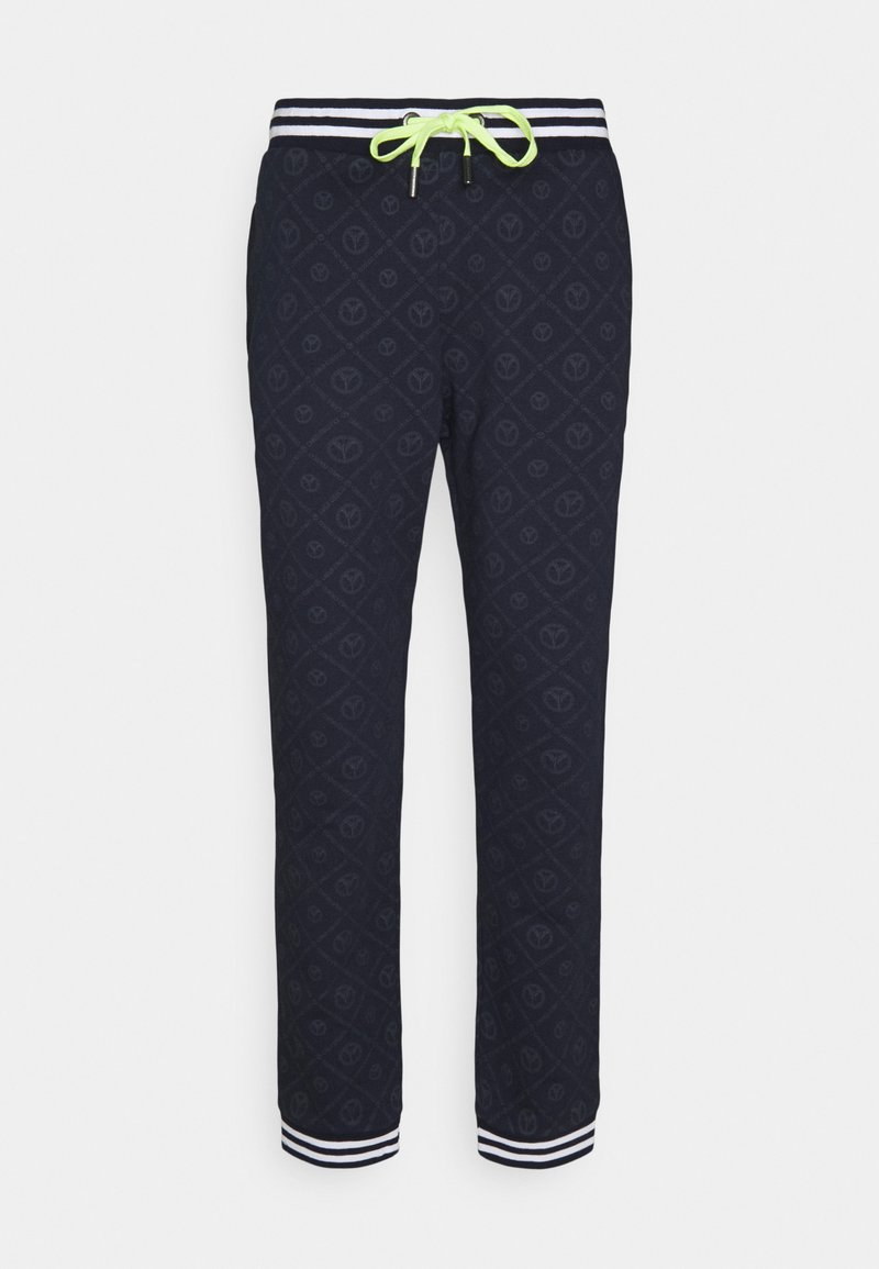 Carlo Colucci - Tracksuit bottoms - navy