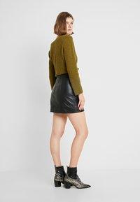 Alice McCall - SWEET - Áčková sukně - black - 2