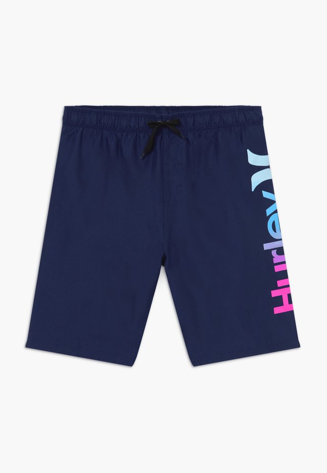ONE AND ONLY GRADIENT - Shorts da mare - deep royal blue