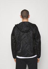 Emporio Armani - BLOUSON JACKET - Summer jacket - black - 2