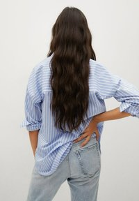 Mango - VERA-I - Button-down blouse - bleu - 1