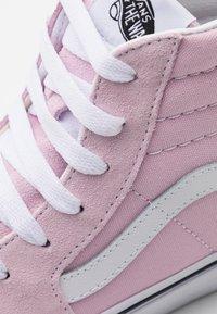 Vans - SK8 - Vysoké tenisky - lilac snow/true white - 5