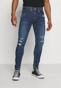 Levi's® - 519™ EXT SKINNY HI BALLB - Jeans Skinny Fit - blue denim - 0