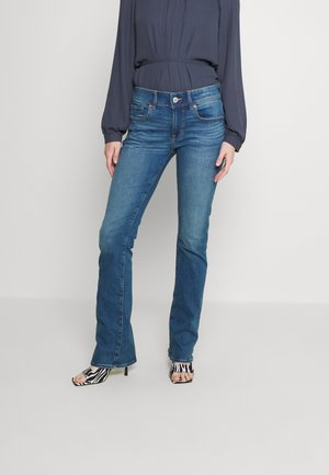 KICK BOOT JEANS - Jeansy Slim Fit - worn out blue