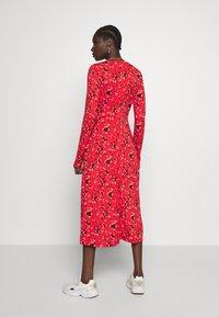 Banana Republic - CREW PRINT - Denní šaty - red - 2