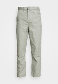 DARIEN TROUSERS - Trousers - sage green