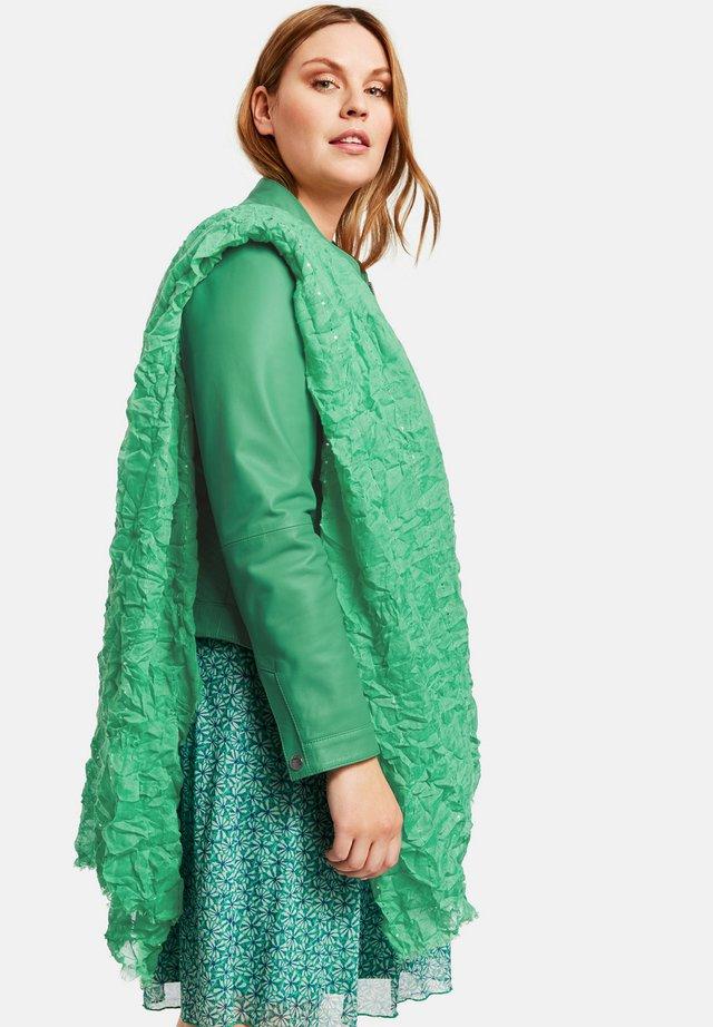 MIT CRASH-EFFEKT - Sjaal - jade green