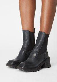 lilimill - MARS - Platform ankle boots - baikal - 0