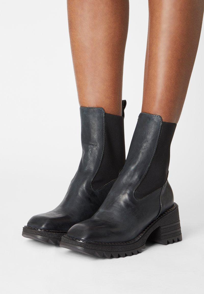 lilimill - MARS - Platform ankle boots - baikal