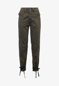 G-Star - ARMY RADAR BOYFRIEND STRAP - Trousers - gray - 4