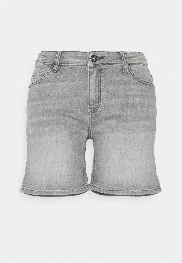 Džínové kraťasy - grey medium wash