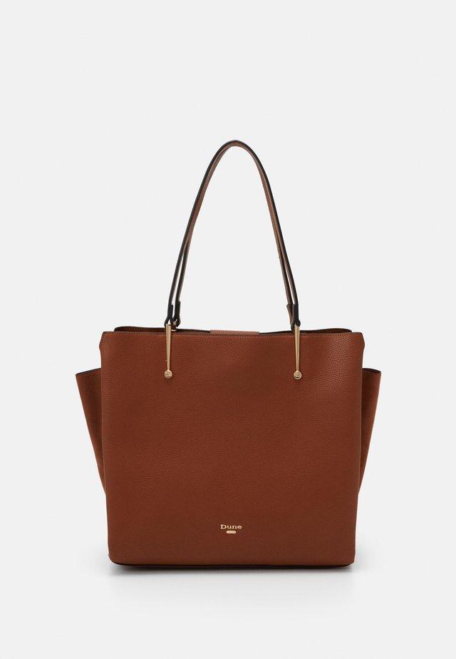 DONYX - Bolso shopping - tan