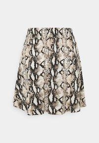 Vero Moda - VMSIMPLY EASY SHORT SKATER SKIRT - Mini skirt - birch/mynthe - 1