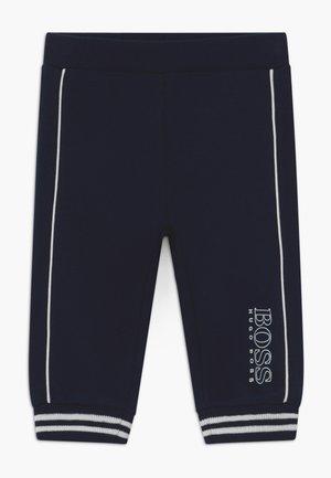 JOGGING BOTTOMS - Spodnie materiałowe - bleu cargo