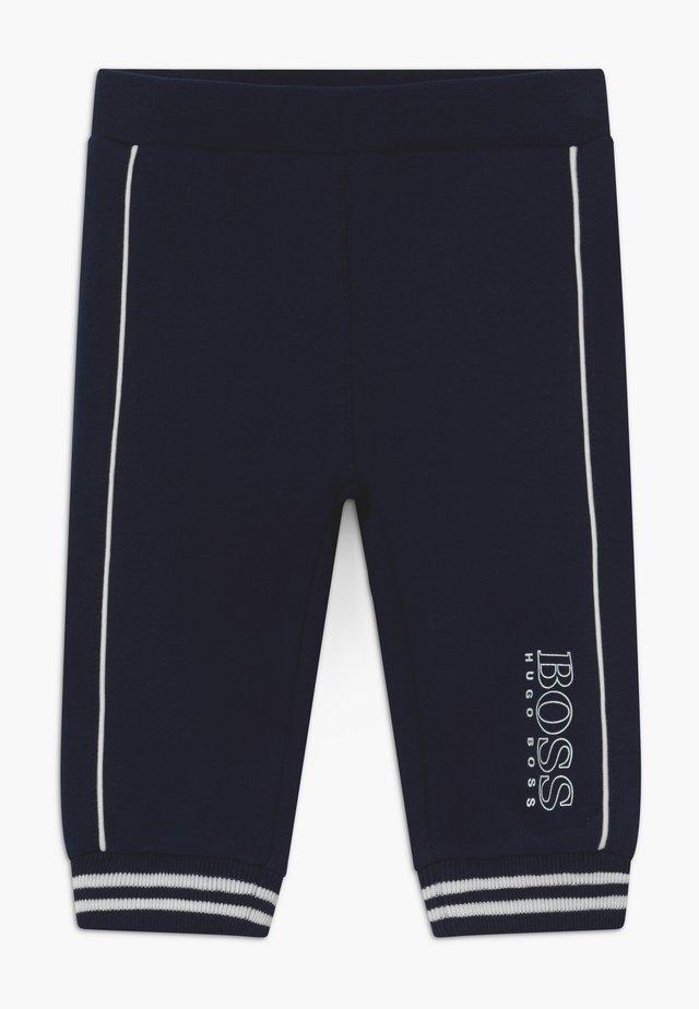 JOGGING BOTTOMS - Tygbyxor - bleu cargo