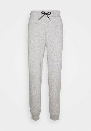 CUFFED REGULAR PANT - Tracksuit bottoms - grey