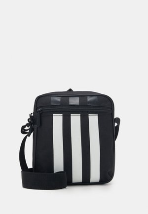 ORGANIZER 3 STRIPES SPORTS ORGANIZER BAG UNISEX - Bandolera - black/white
