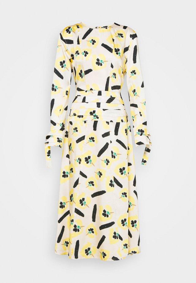 LINDA DRESS - Maxi-jurk - beige