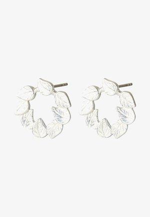 Earrings - silver
