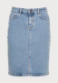 CALISSA RIKKA DENIM SKIRT - Denim skirt - vintage l blue