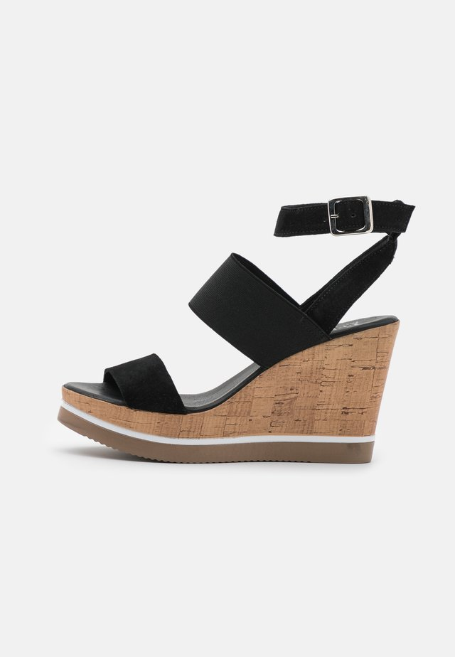 MARY - High heeled sandals - marvin/nero