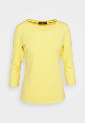 MULTIA - Long sleeved top - zartgelb