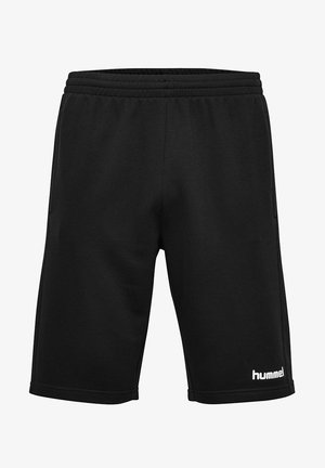GO KIDS COTTON BERMUDA SHORTS - Sports shorts - black