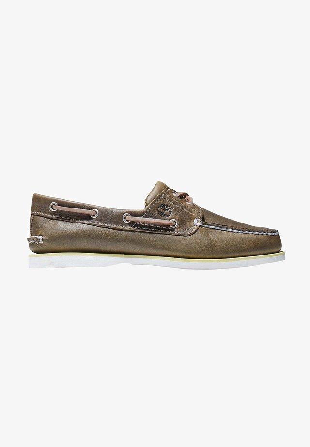 Chaussures bateau - nutria