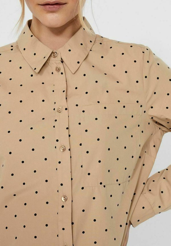 Vero Moda Koszula - travertine/beżowy FEKV