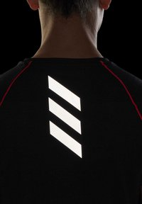 adidas Performance - ADI RUNNER PRIMEGREEN RUNNING - T-shirt print - Black - 6
